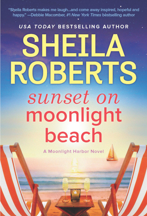 Book cover for Sunset on Moonlight Beach